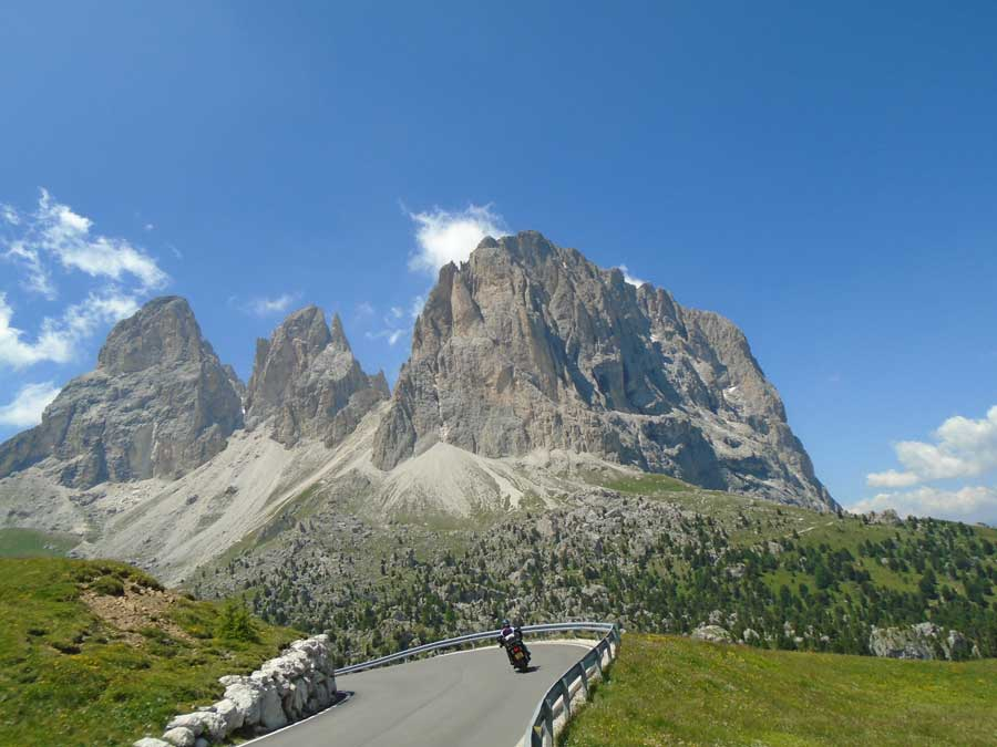 Italian Dolomites Guided Motorcycle Tour