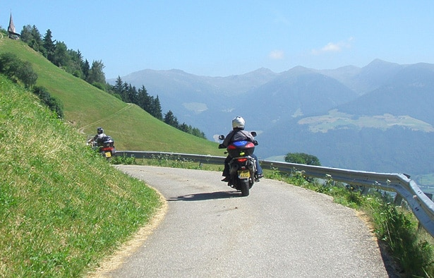 Lake Achensee Self Guided Motorcycle Tour