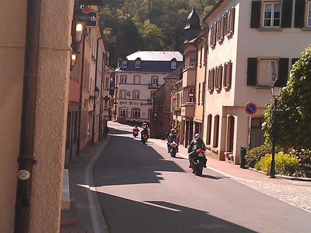 Luxembourg Self Guided Motorcycle Tour