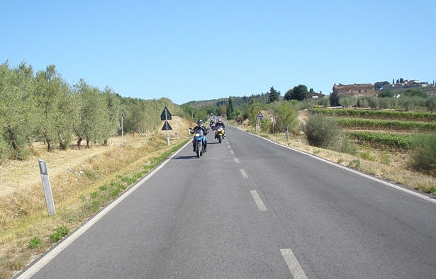 Tuscany Self Guided Motorcycle Tour