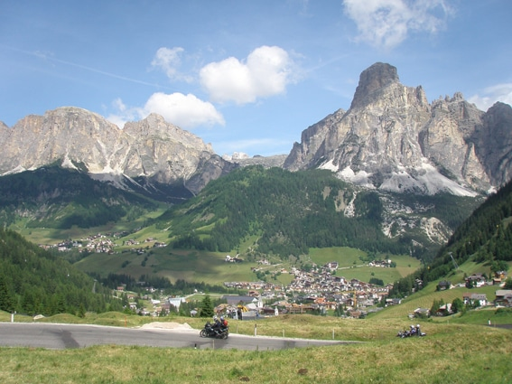 Italian Dolomites Hotel Condor Self Guided Motorcycle Tour