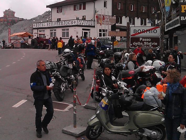 Alps tour Stelvio pass