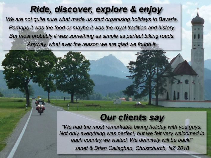 Motorcycle hire and tours