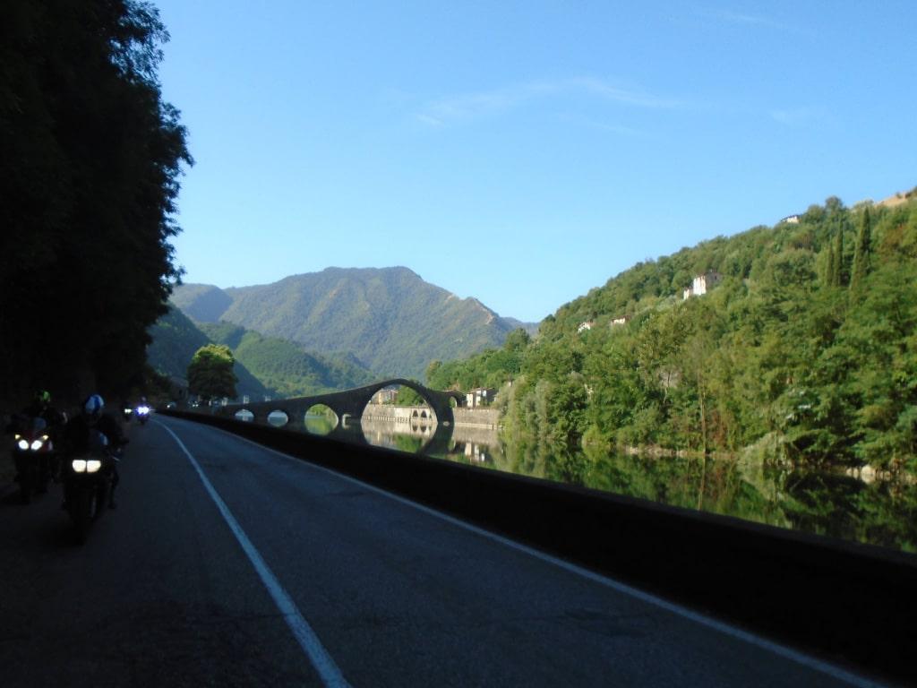motorcycle holidays Europe - Italy, Tuscany, Alps