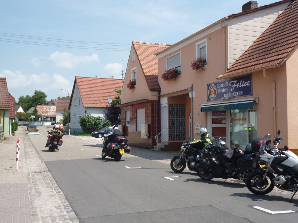 motorcycle holidays Europe - Alps tour