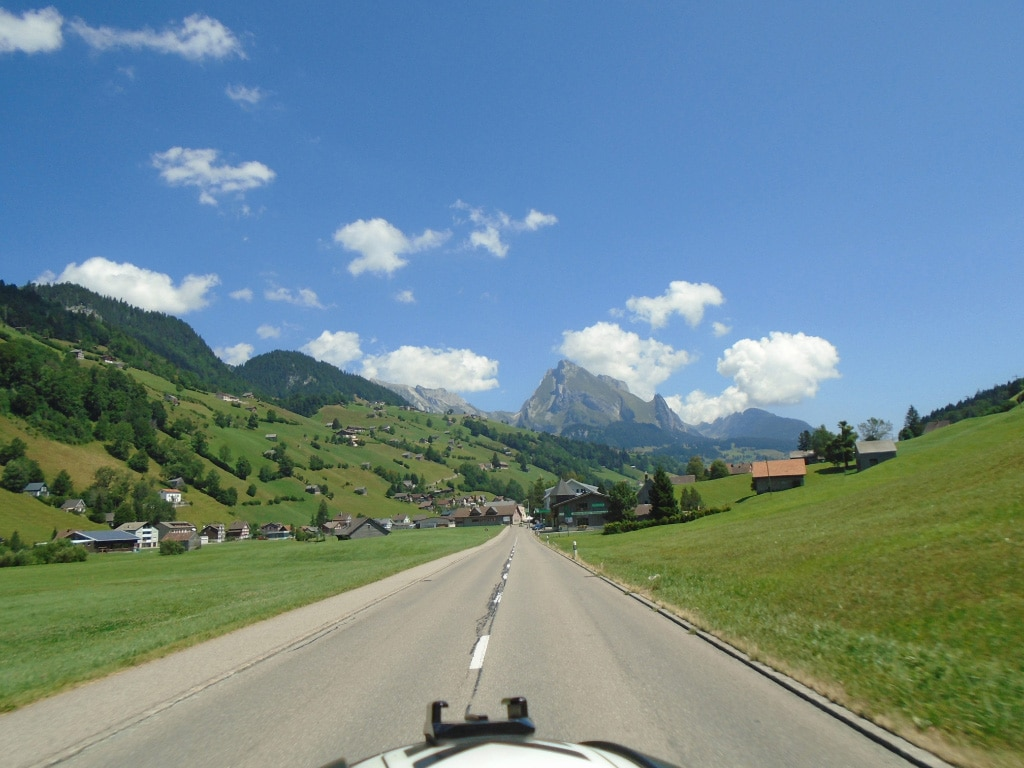 motorcycle vacations to Europe - Alps, Italy