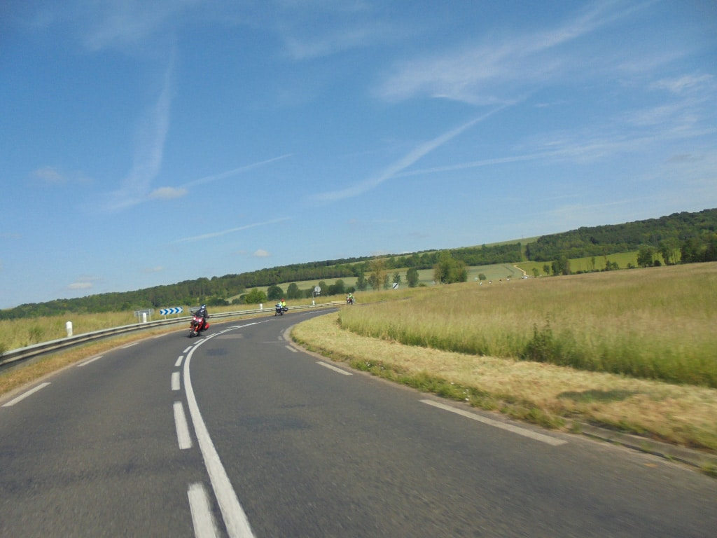 self guided motorcycle tours to Europe, Vosges Mountains