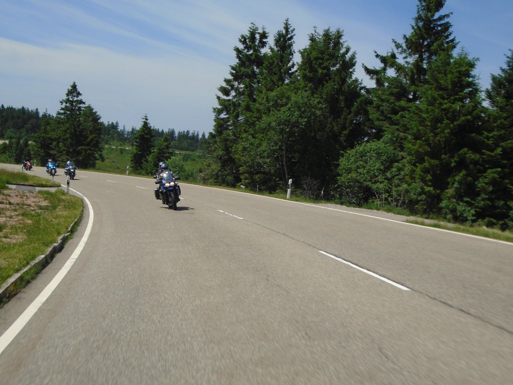 motorcycle vacations to Europe - Black Forest