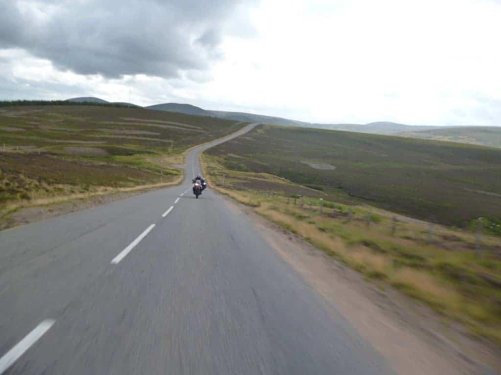 motorcycle rentals Europe - Scottish Highlands tour