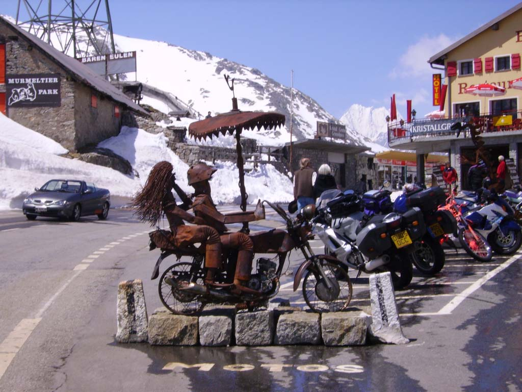 motorcycle vacations to Europe - Swiss Alps tour