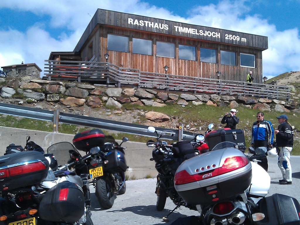 guided motorcycle tours to Europe - Timmelsjoch Pass