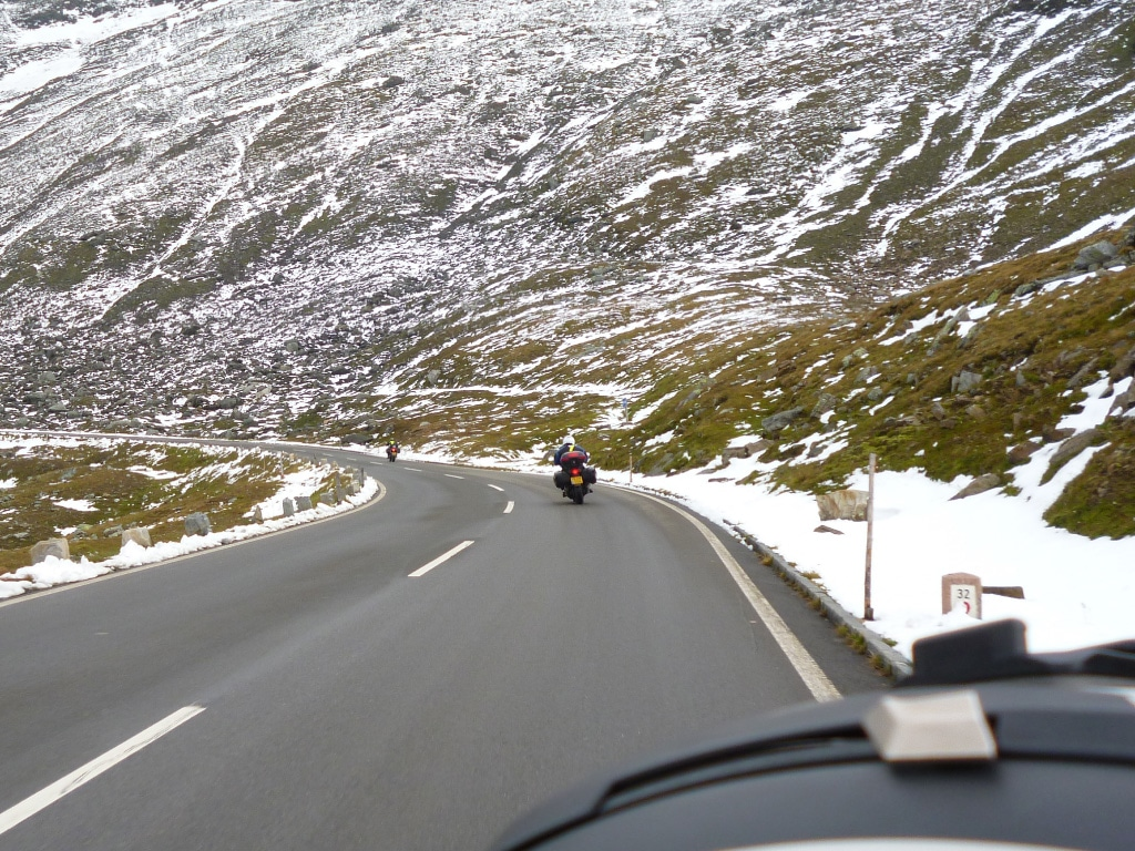 motorcycle holidays Europe - Großglockner pass