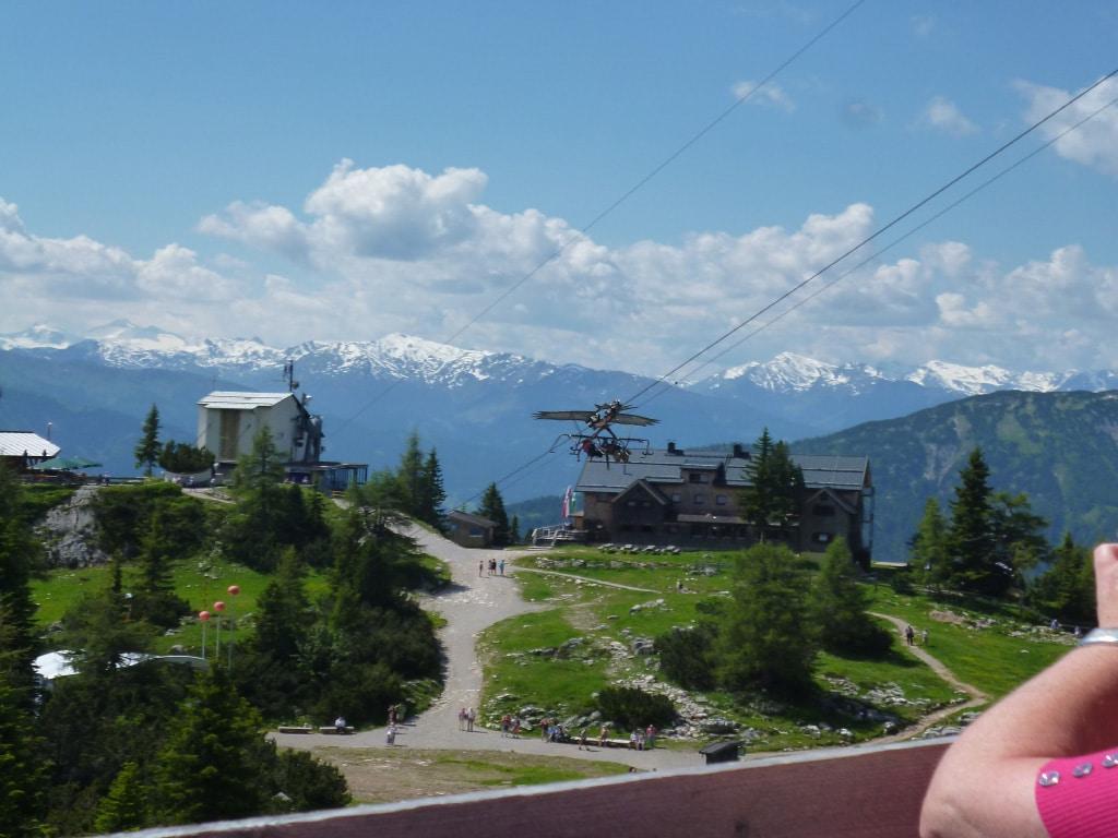 motorcycle rentals Europe - Austrian Alps tour