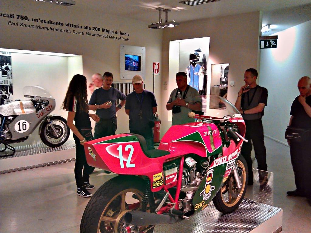 guided motorcycle tours to Europe, Ferrari, Lamborghini factories