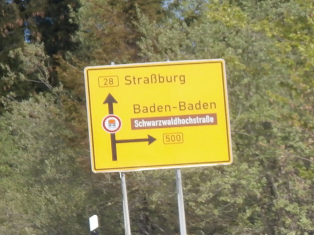 guided motorcycle tours to Europe, Germany, Black Forest, B500
