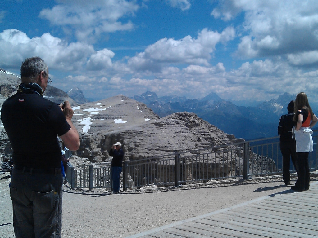 guided motorcycle tours to Europe - Dolomites, mountain passes