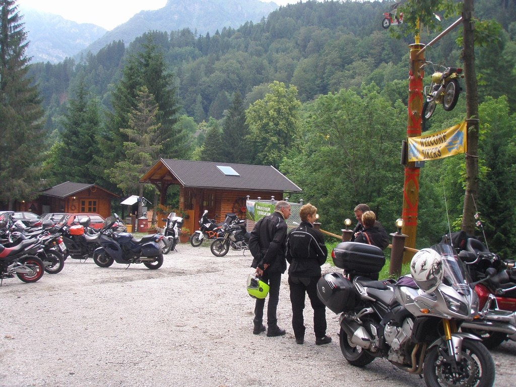 guided motorcycle tours to Europe - Slovenia - Alps - Bled