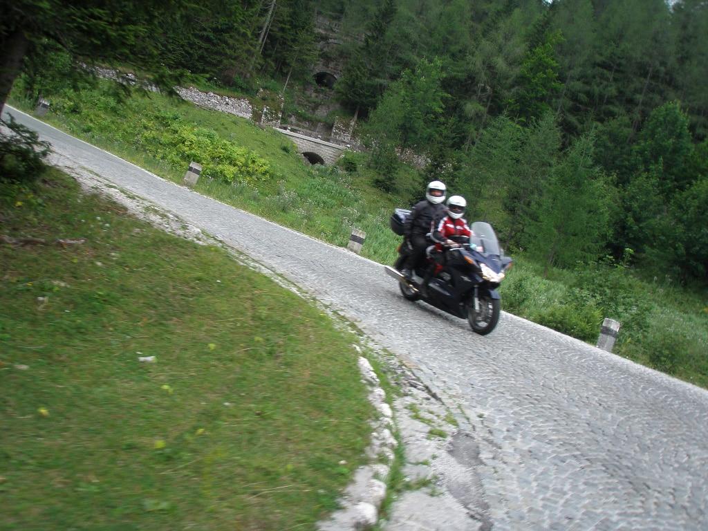 motorcycle holidays Europe - Vrsic mountain pass