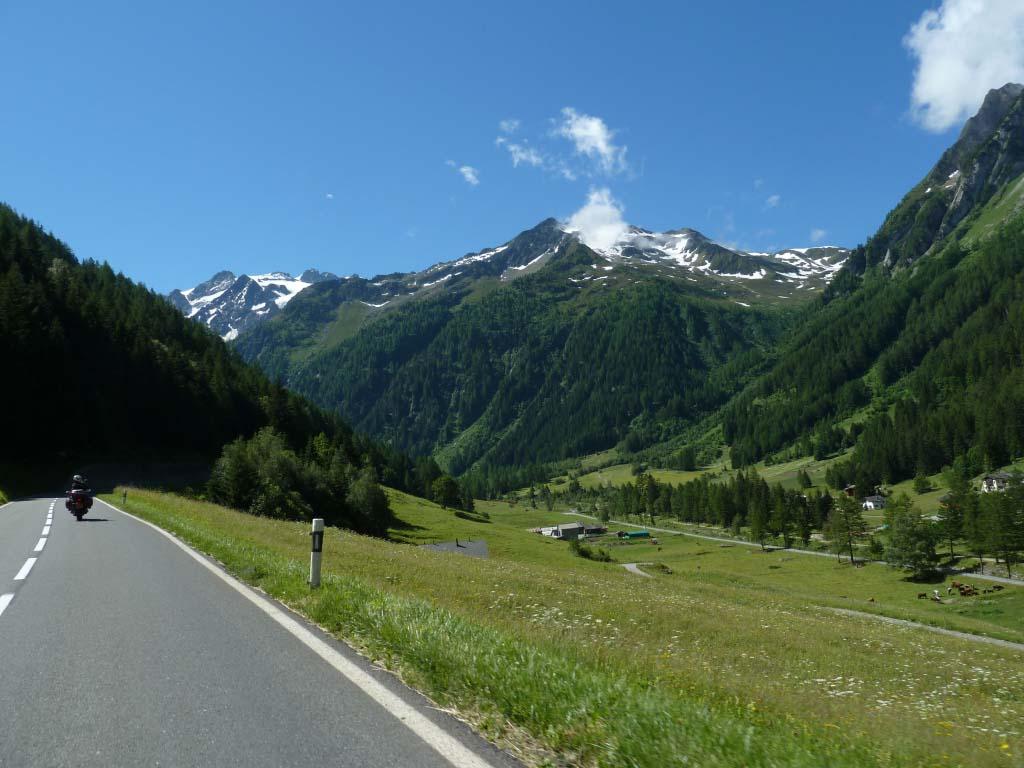 motorcycle rental UK - French Alps tour