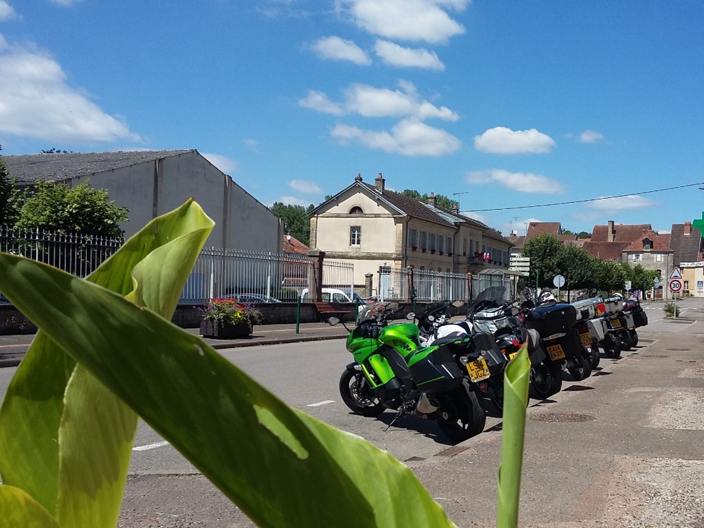 self guided motorcycle tours to Europe - Austrian Alps