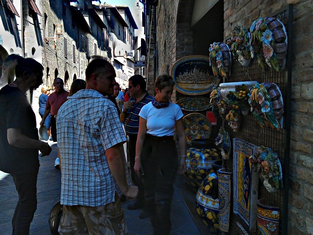 motorcycle rentals Europe, San Gimignano, Tuscany, Chianti