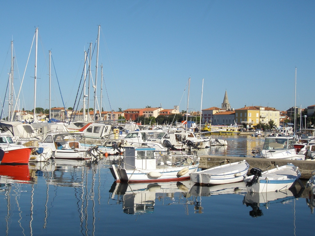 motorcycle vacations to Europe - Croatia - Porec
