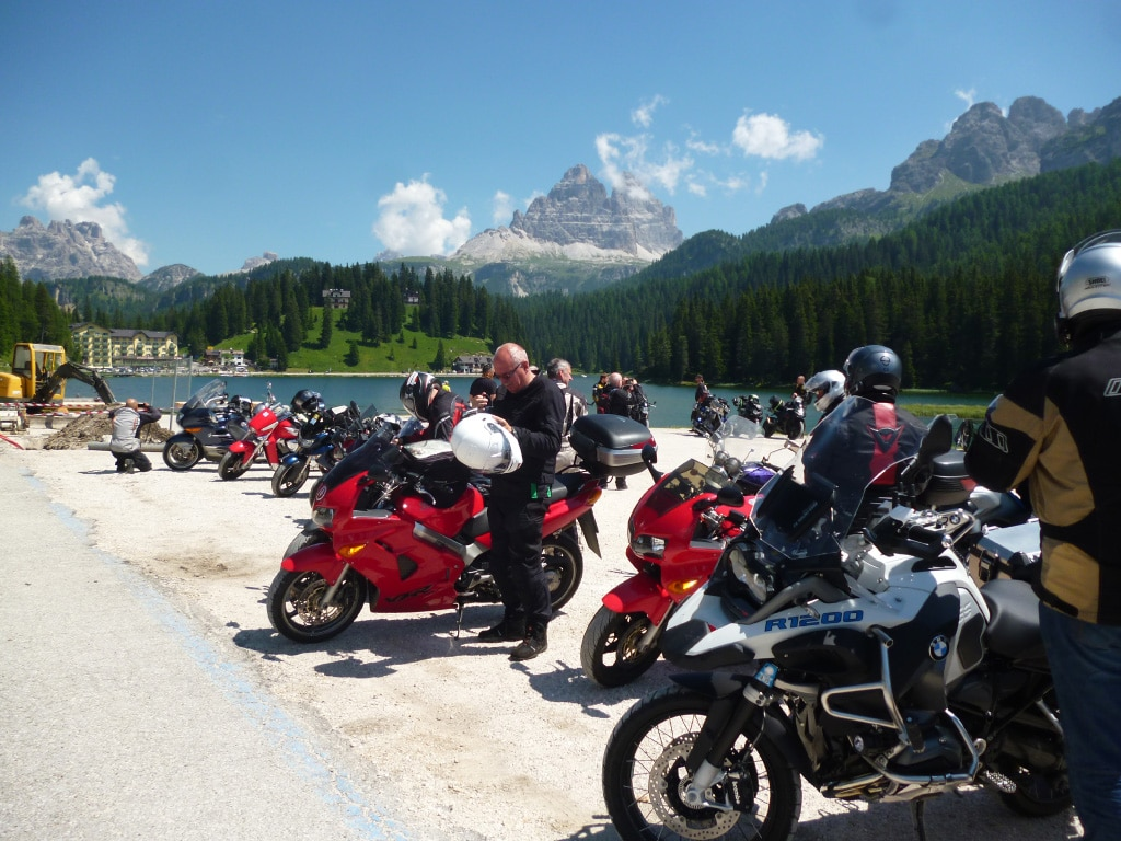 motorcycle vacations to Europe - Italy