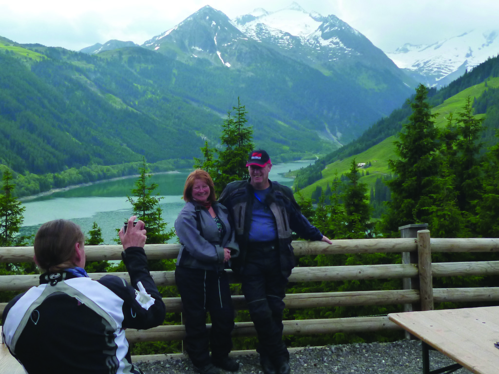 guided motorcycle tours to Europe - Austrian Alps