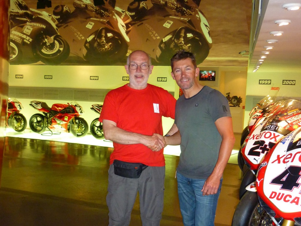 guided motorcycle tours to Europe - Ducati Factory