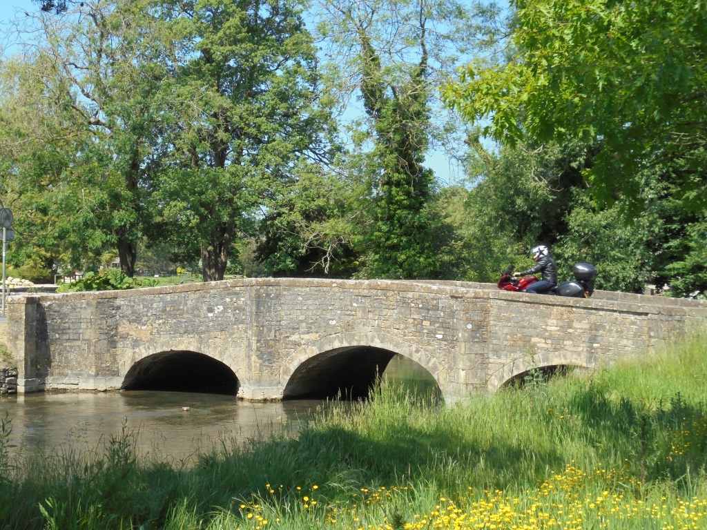 guided motorcycle tours to Europe - UK - Cotswolds