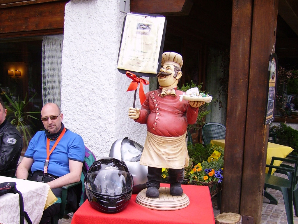 guided motorcycle tours to Europe - Alps