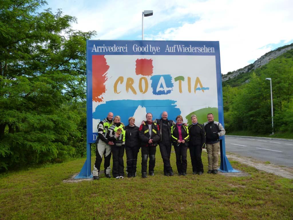 Bosnia, Croatia, and Slovenia guided motorcycle tou