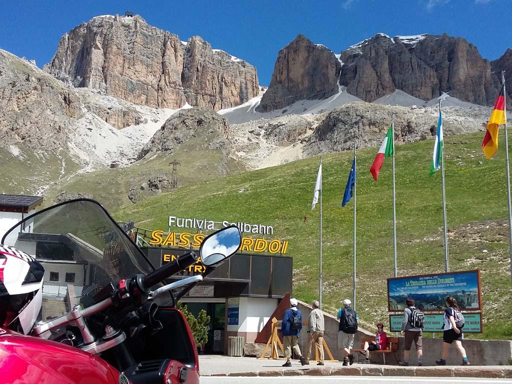 guided motorcycle tours to Europe - Dolomites and Lake Garda
