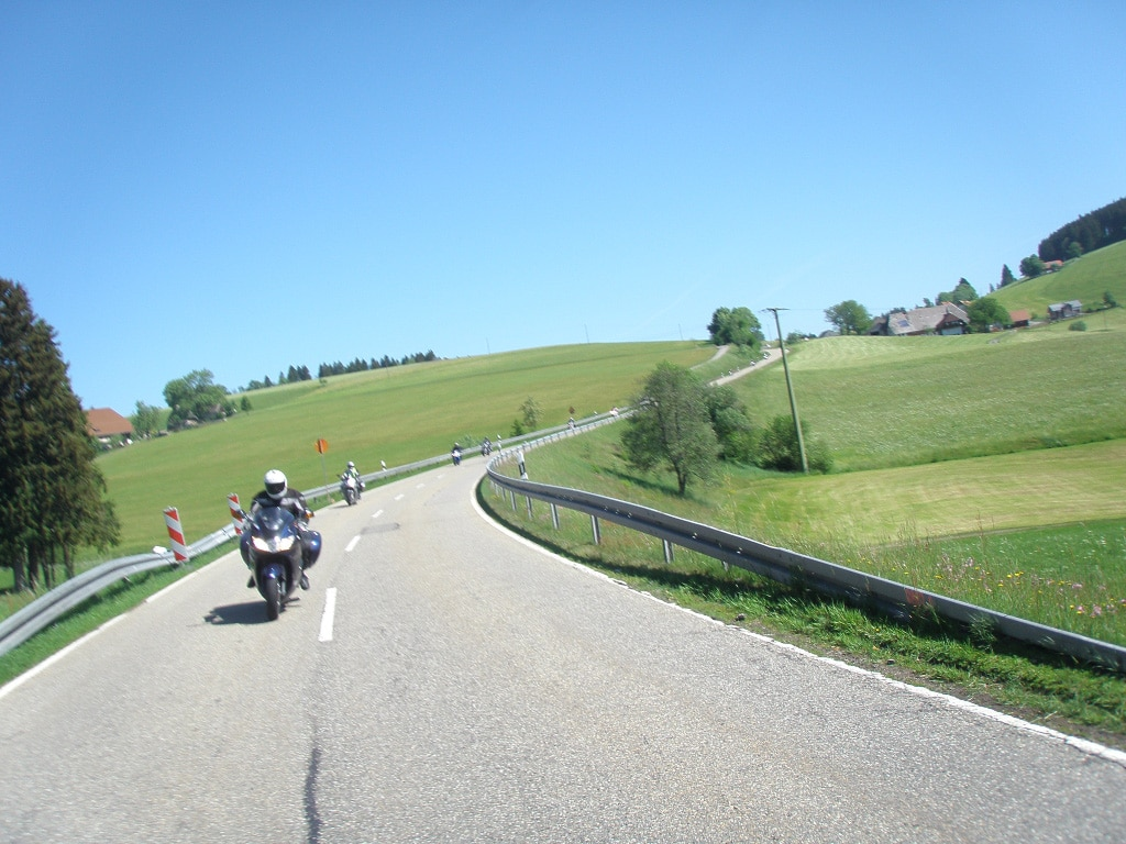 Dolomites, Lake Garda and Tuscany guided motorcycle tour